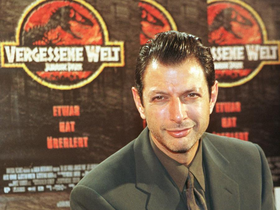Jeff Goldblum promuje \