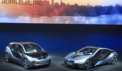 BMW i3 Concept oraz BMW i8 Concept