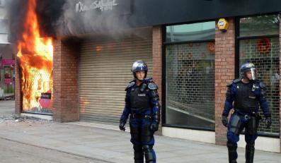 Zamieszki w Wielkiej Brytanii