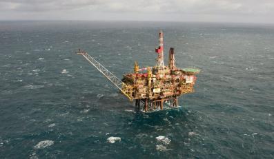 Mniejszy wyciek ropy z platformy Shella na Morzu Północnym