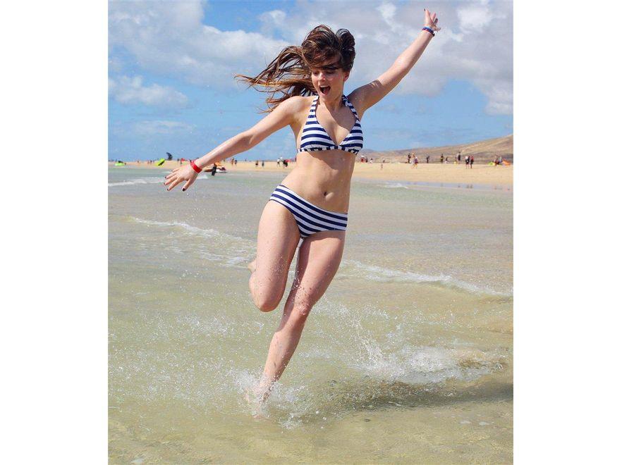 Maria Niklińska w bikini