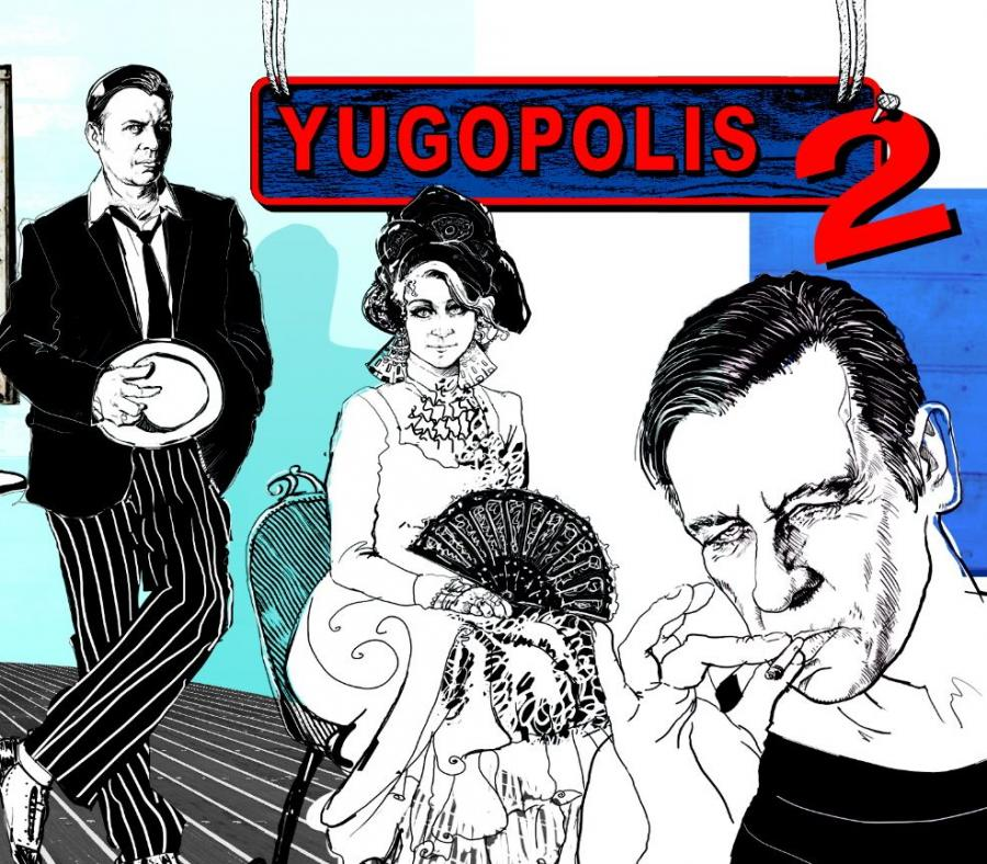 Yugopolis2 - okładka płyty