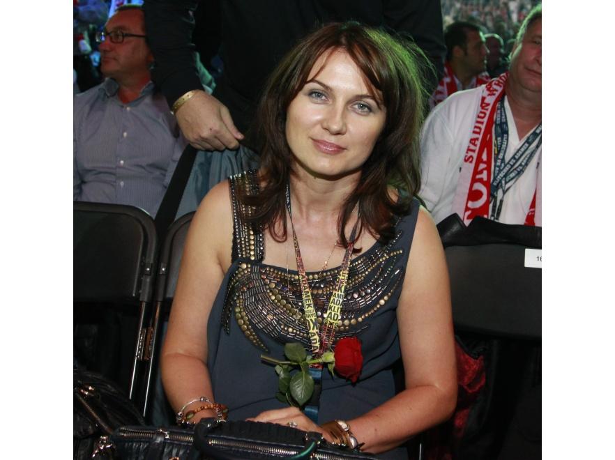 Dorota Adamek jest najwierniejszą fanką swojego męża.