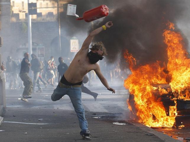 Na ulicach Rzymu doszło do zamieszek