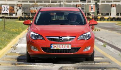 Opel astra z Polski - już się robi!