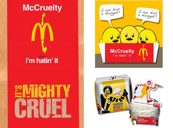 """Drastyczne zestawy """"Unhappy Meal"""" czyli PETA dla dzieci"""