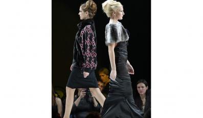 Pokaz kolekcji Hermana Shalumova podczas Russian Fashion Week