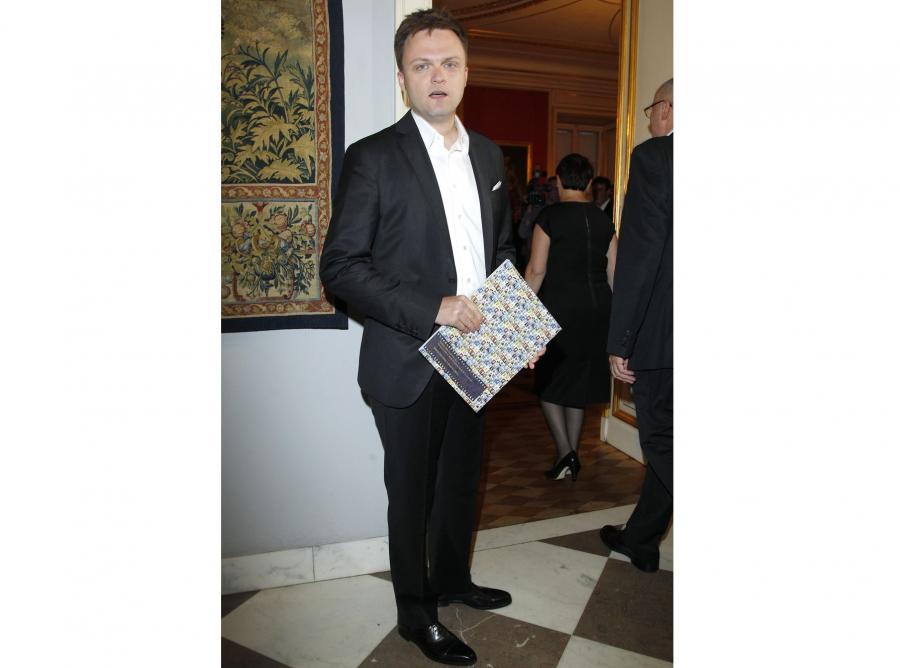 Szymon Hołownia może nie jest najbardziej znany, ale za to znalazł się na szczycie listy najbardziej inteligentnych prezenterów