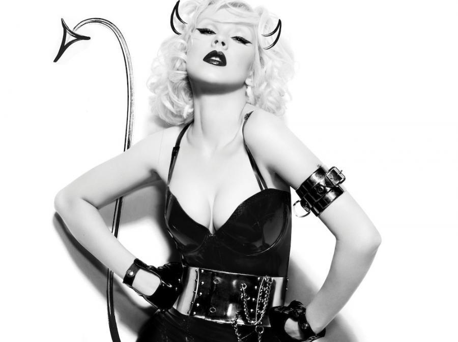 Christina Aguilera jeszcze w dawnej, diabelnie szczupłej wersji
