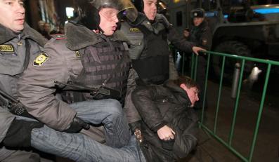 W Moskwie zatrzymano już ponad 250 osób