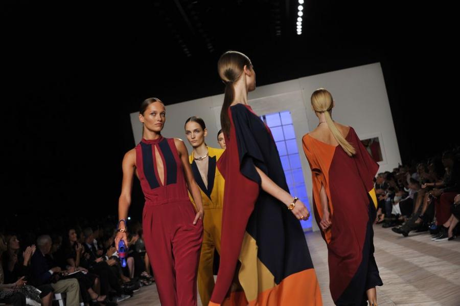 Pokaz kolekcji domu mody Tommy Hilfiger