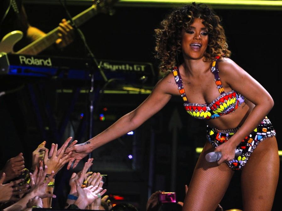 Rihanna stała się celem rasistowskiego ataku