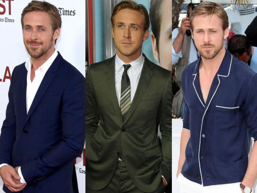 Ryan Gosling w trzech wydaniach