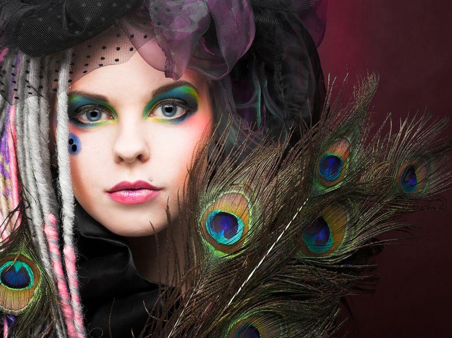 Modny Makijaż Na Sylwestra I Karnawał Make Up Jak Oczy Pawia