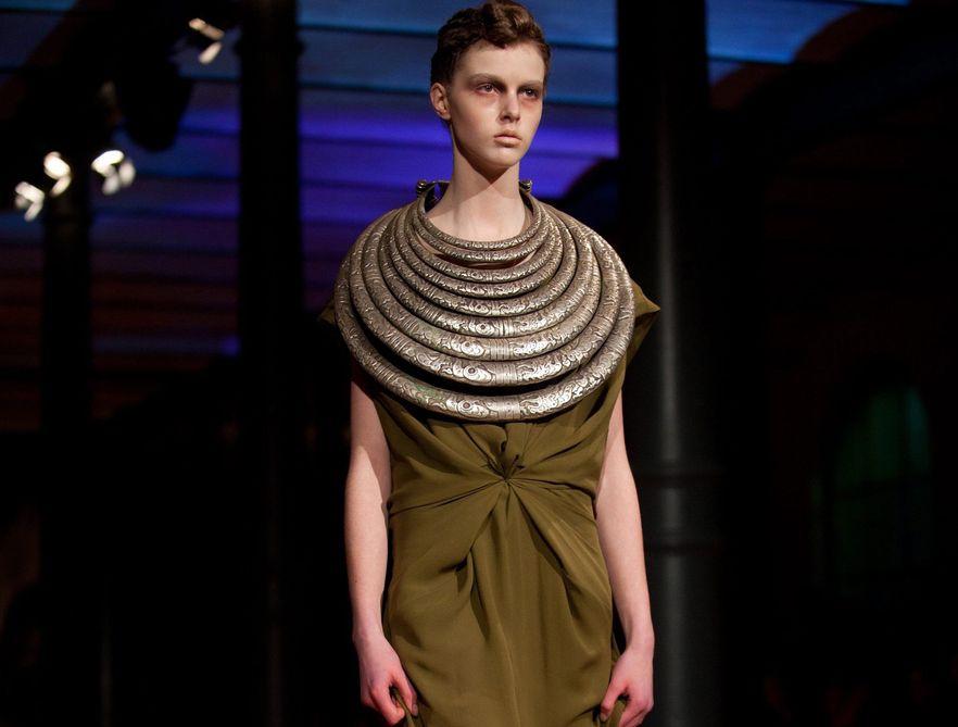 Pokaz kolekcji Dawida Tmaszewskiego w ramach Mercedes-Benz Fashion Week w Berlinie