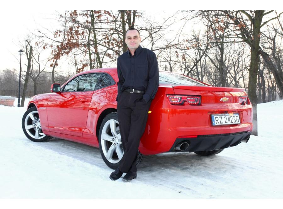 Wybrałem Camaro przede wszystkim ze względu na jego moc i przyjemność z jazdy, jaką daje - powiedział Zbigniew Łyszczar