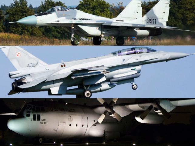 Przegląd samolotów Sił Powietrznych Rzeczpospolitej