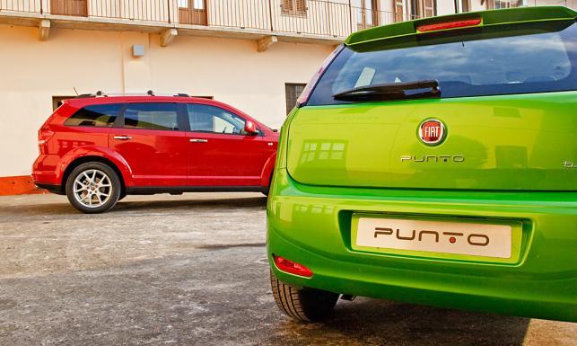 Fiat punto i freemont 4x4