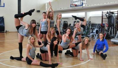 Cheerleaderki Asseco Prokom Gdyni