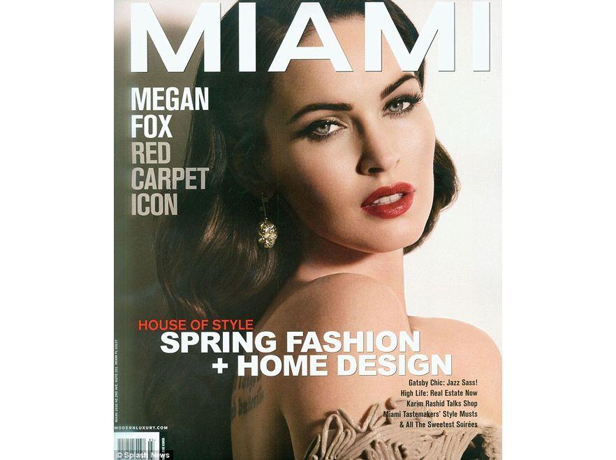 Megan Fox na okładce magazynu \