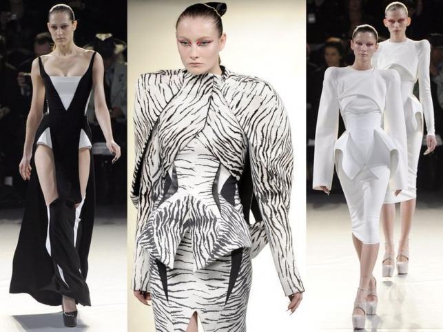 Kolekcja ready-to-wear domu mody Thierry Mugler na jesień i zimę 2012/2013