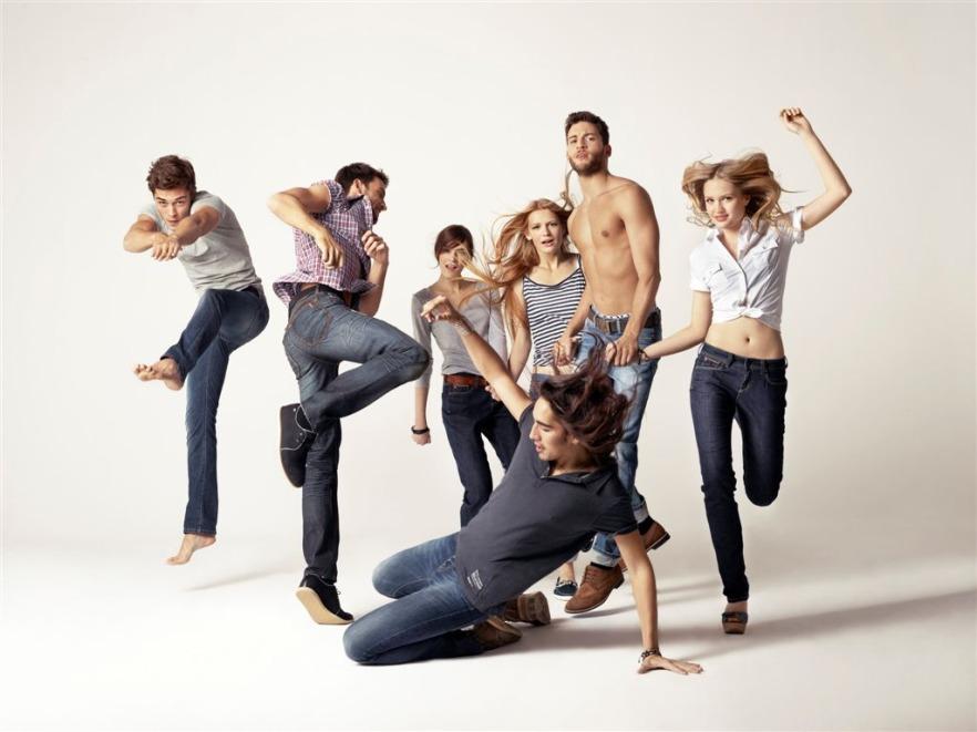 Just Be Yourself – Big Star - kampania promocyjna kolekcji Big Star wiosna/lato 2012