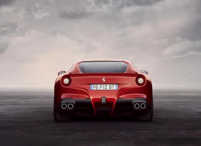 Ferrari F12 berlinetta - zdjęcie poglądowe