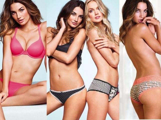 """Lily Aldridge i inne """"aniołki"""" w nowej kolekcji bielizny Victoria's Secret"""