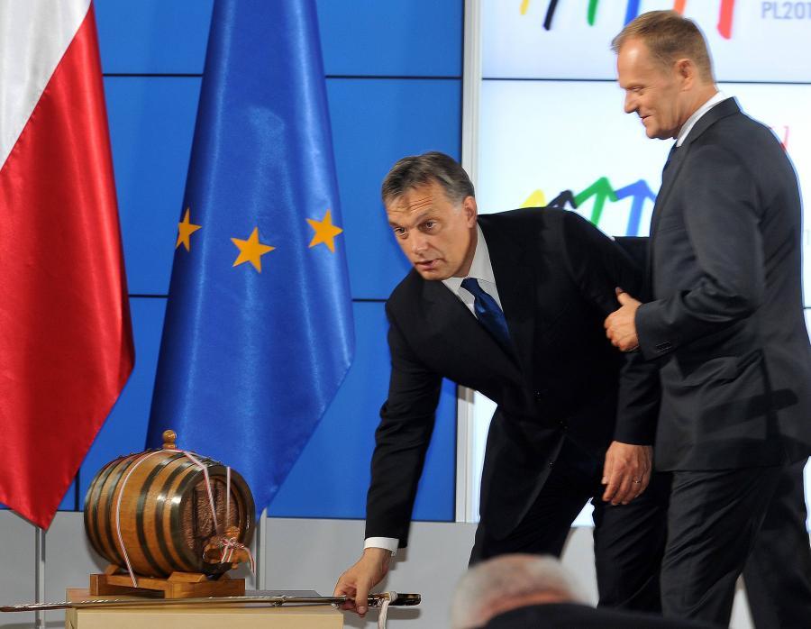 Victor Orban i Donald Tusk