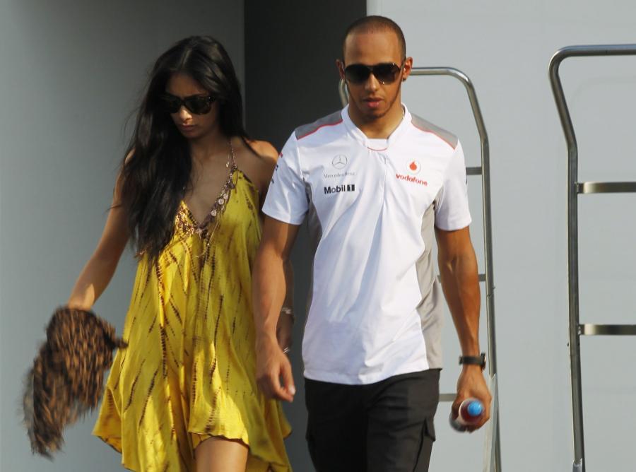 Lewis Hamilton mile widziany w \