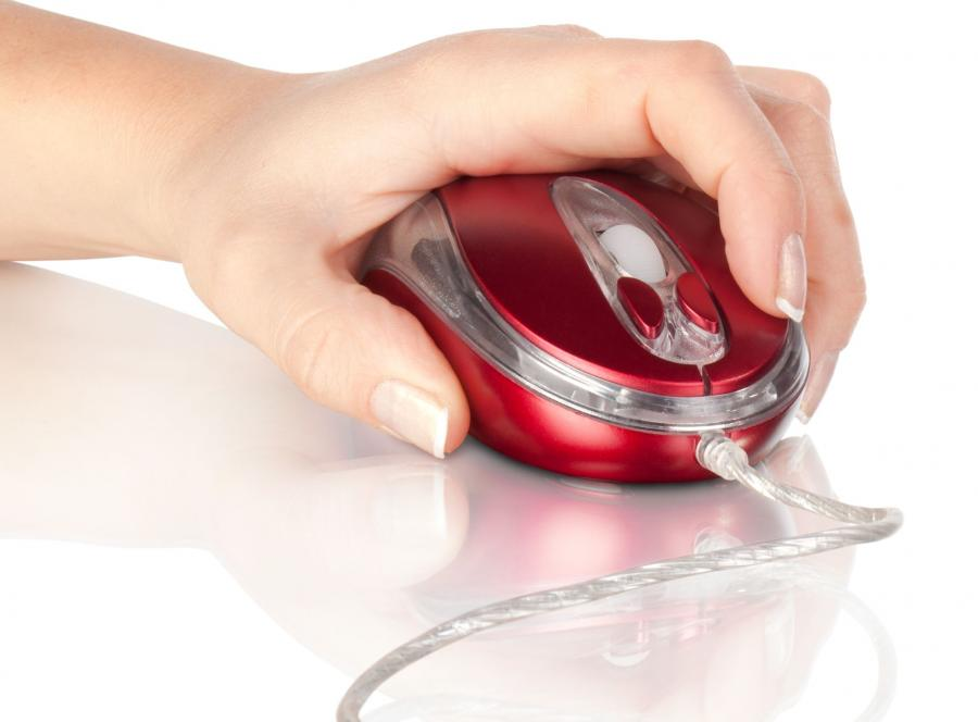 Komputerowa mysz - zdjęcie ilustracyjne