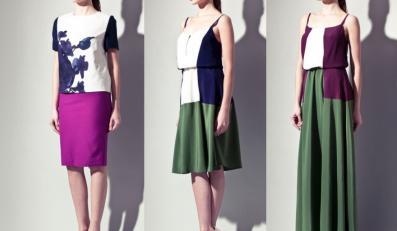 Sukienki Langner z kolekcji casual na lato 2012