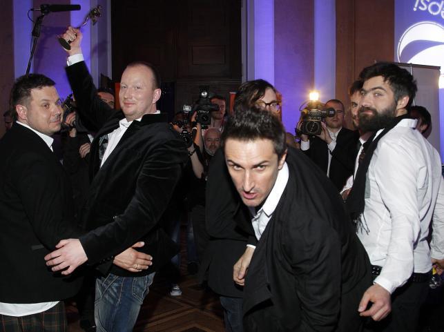 """Zespół Zakopower otrzymał trzy Fryderyki 2012 w kategoriach: Piosenka Roku - za utwór """"Boso"""", Grupa Roku oraz Album Roku Folk/Muzyka Świata"""