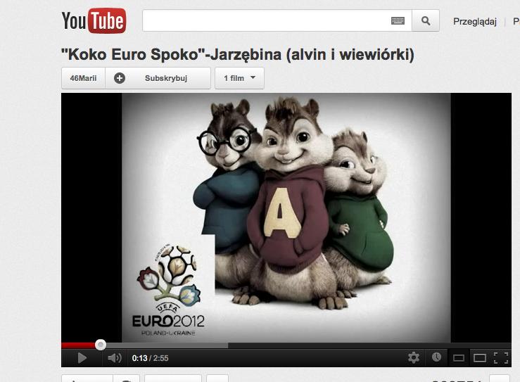 Alvin i wiewiórki śpiewają \