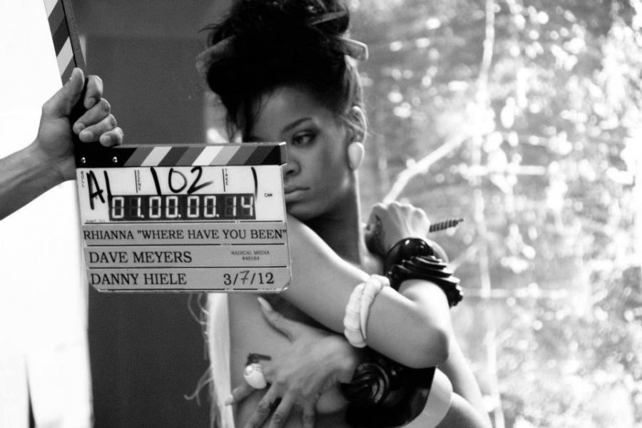 Rihanna w gorącej sesji na Facebooku