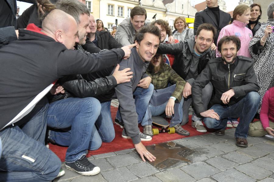 Zakopower odsłonił swoją gwiazdę w Opolu