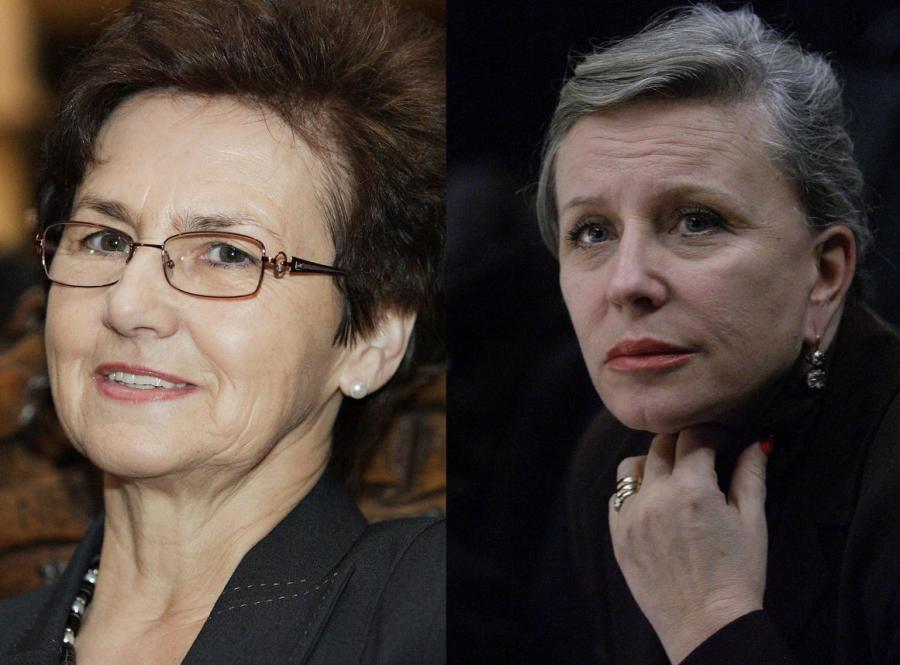 Danuta Wałęsa i Krystyna Janda
