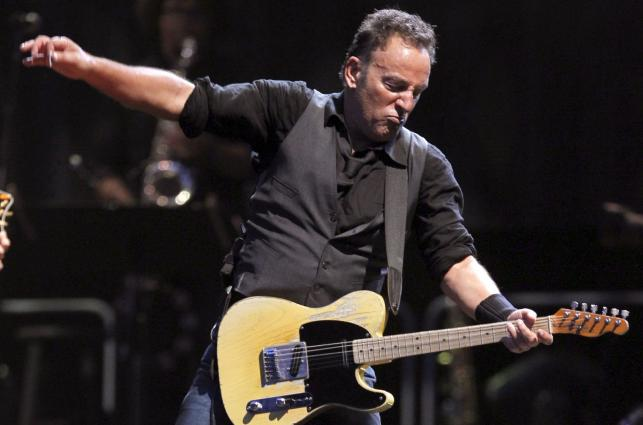 Bruce Springsteen na stadionie imienia Santiago Bernabeu w Madrycie