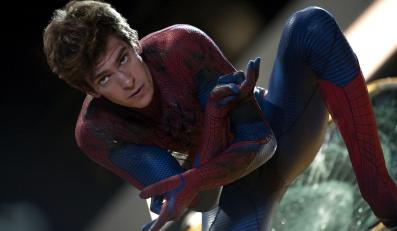 "Andrew Garfield jako ""Niesamowity Spider-Man"""