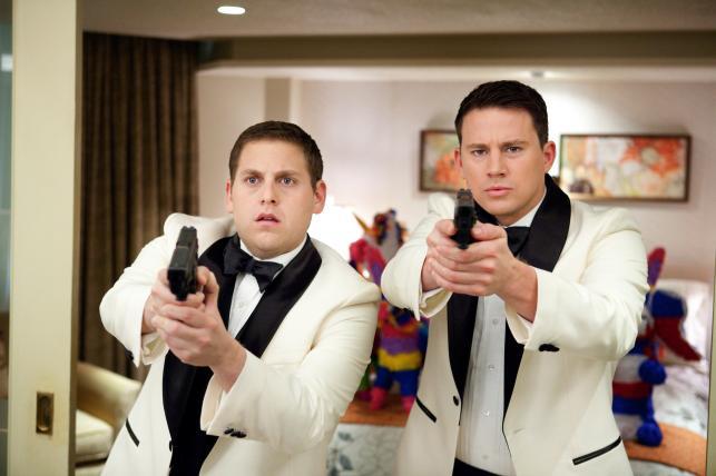 """Jonah Hill i Channing Tatum w """"21 Jump Street"""""""