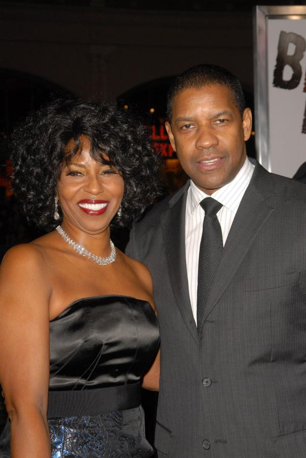 Długodystansowcy w Hollywood - Denzel Washington z żoną Pauletta Pearson