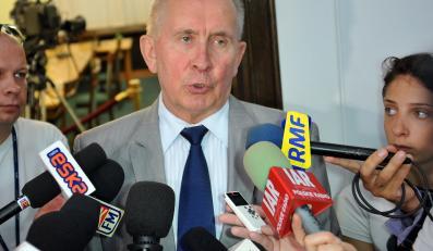 Andrzej Czuma, były minister sprawiedliwości