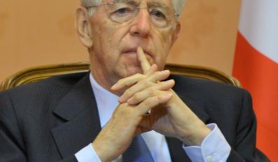 Premier Włoch Mario Monti