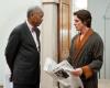 """Morgan Freeman i Christian Bale w filmie """"Mroczny Rycerz powstaje"""""""