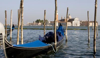 Wenecka gondola - zdjęcie ilustracyjne