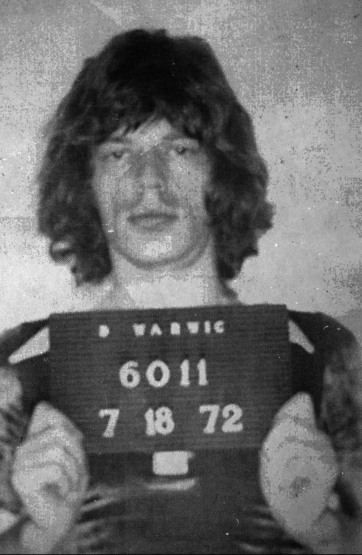 Gwiazdy w kartotekach policyjnych - Mick Jagger