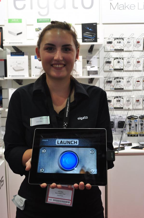 iPad jako mobilny telewizor