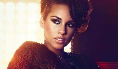 "Alicia Keys jest ""Girl on Fire"""