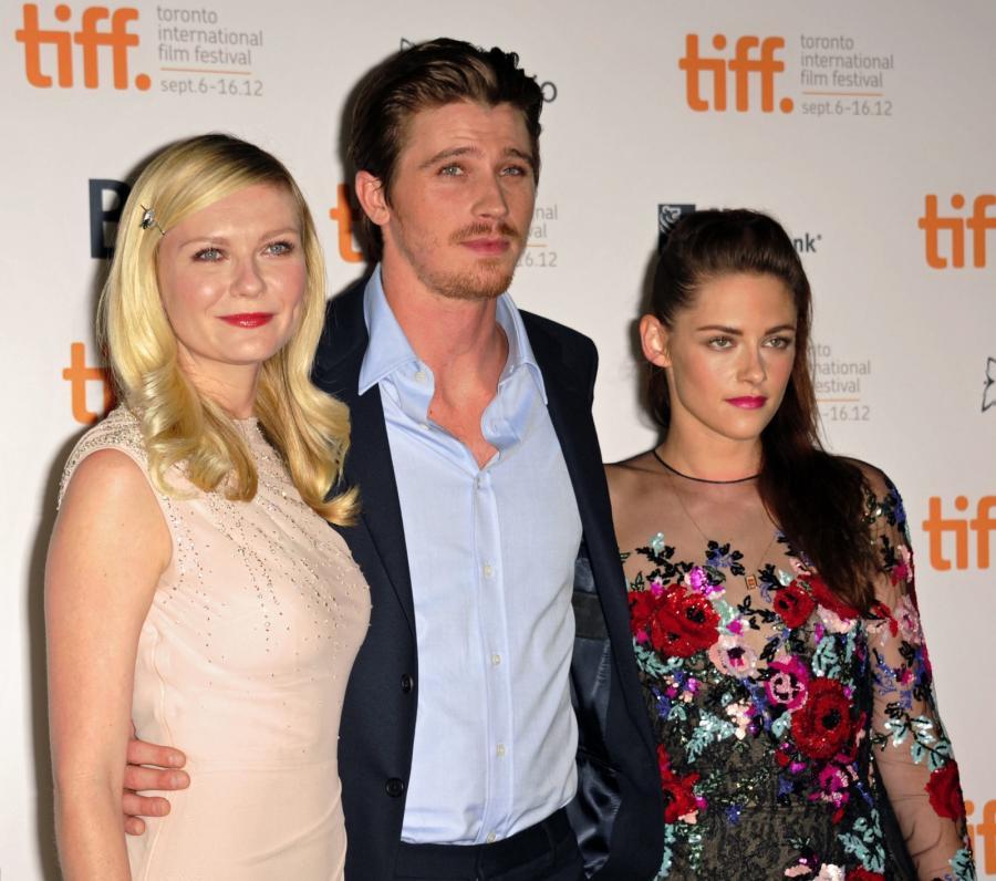 Kristen Stewart, Garrett Hedlund i Kristen Kirsten Dunst na 37th Toronto Film Festival