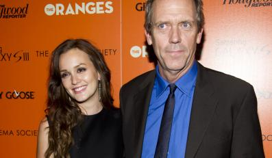 """Gwiazdy """"The Oranges"""" – Leighton Meester i Hugh Laurie"""